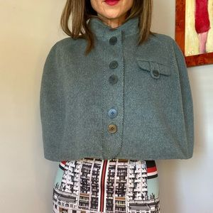 Whistles wool cape size 12 Spring must-have!